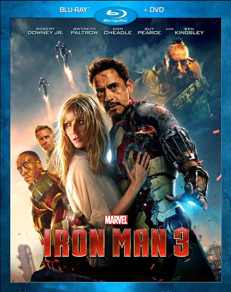 Movie cover: Iron Man 3