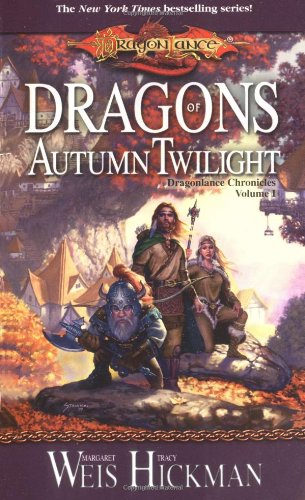 Book cover: Dragons of Autumn Twilight