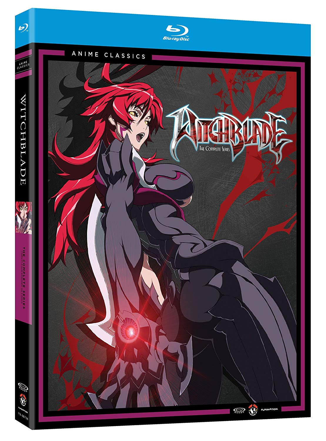 Anime cover: Witchblade
