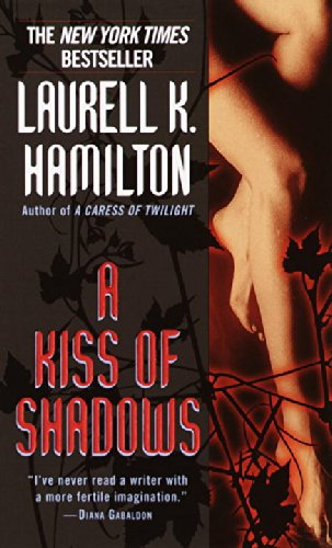 Book cover: A Kiss of Shadows