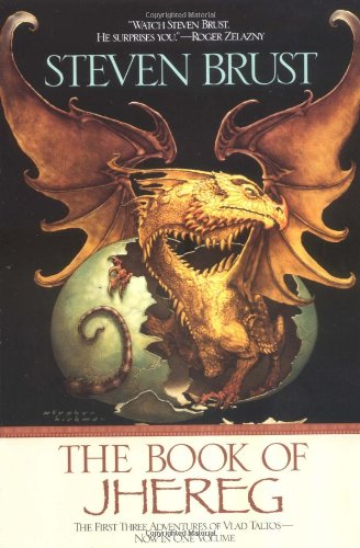 Book cover: The Book of Jhereg