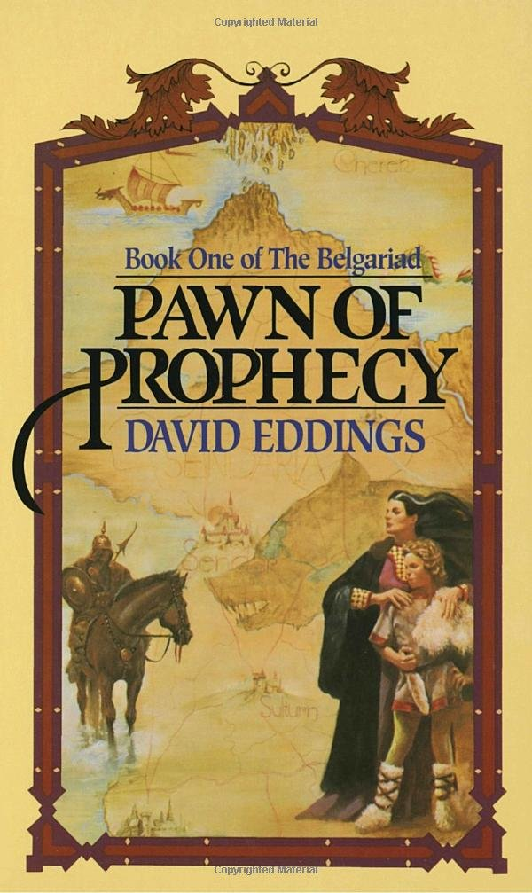 Book cover: Pawn of Prophecy