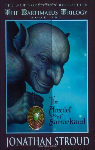 Book cover: The Amulet of Samarkand