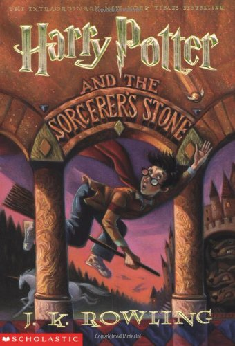 Book cover: Harry Potter and the Sorcerer's Stone