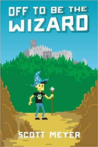 Book cover: Off to Be the Wizard