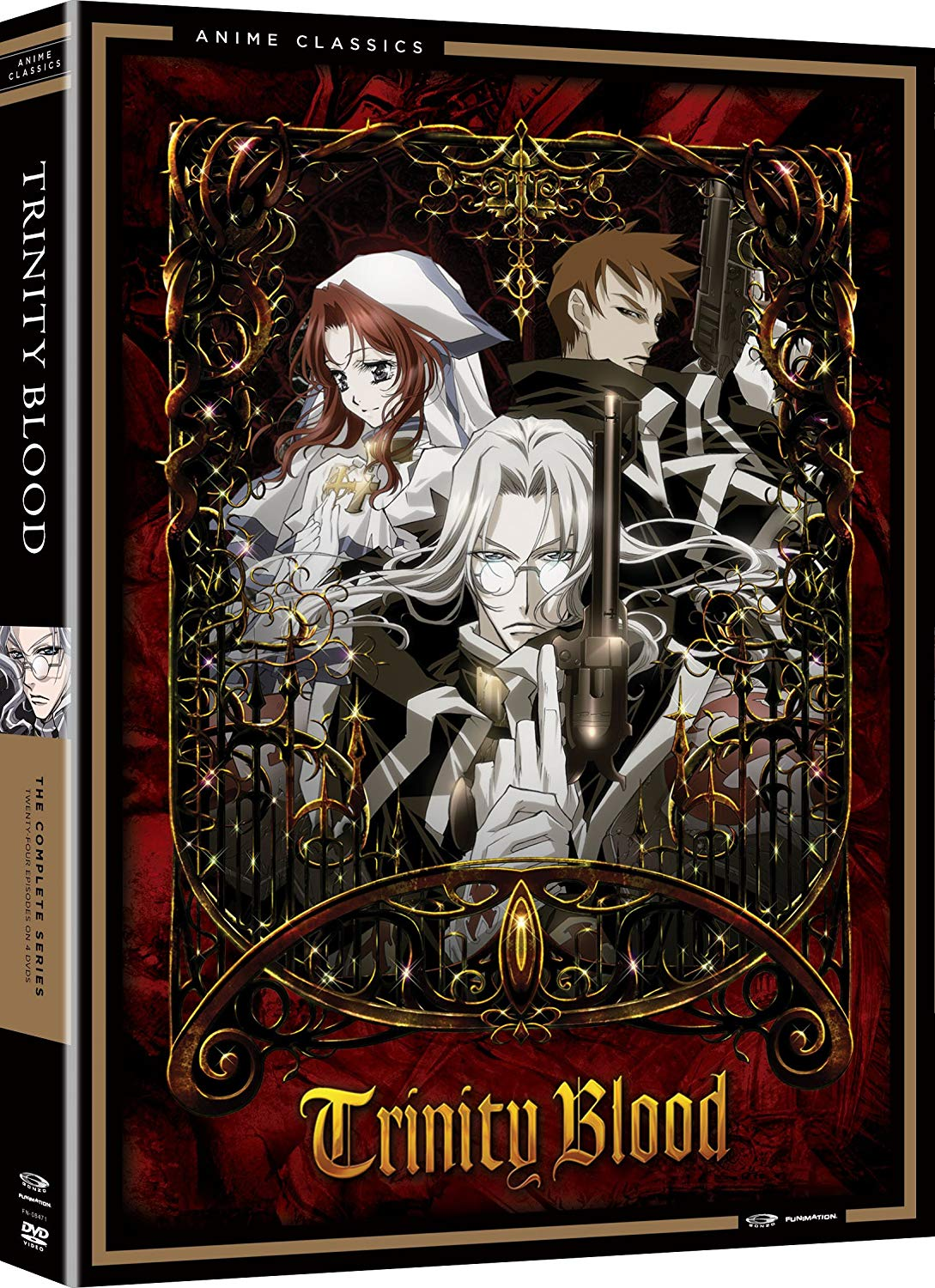 Anime cover: Trinity Blood