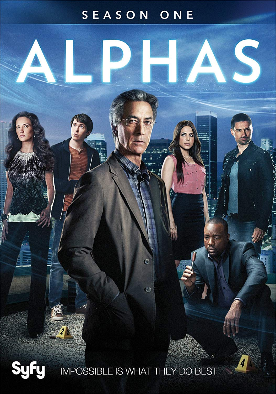 Tv Show cover: Alphas