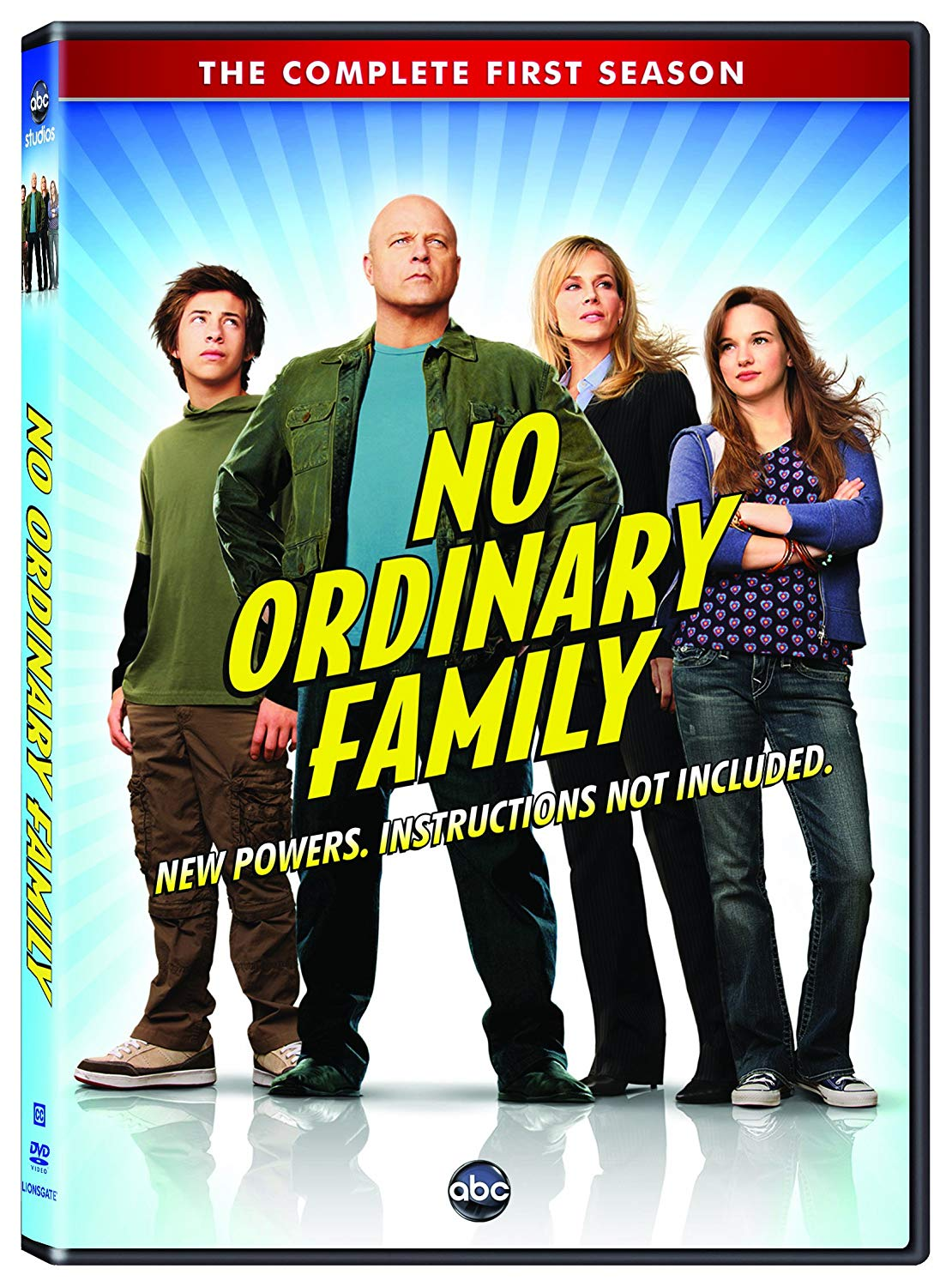 Tv Show cover: No Ordinary Family