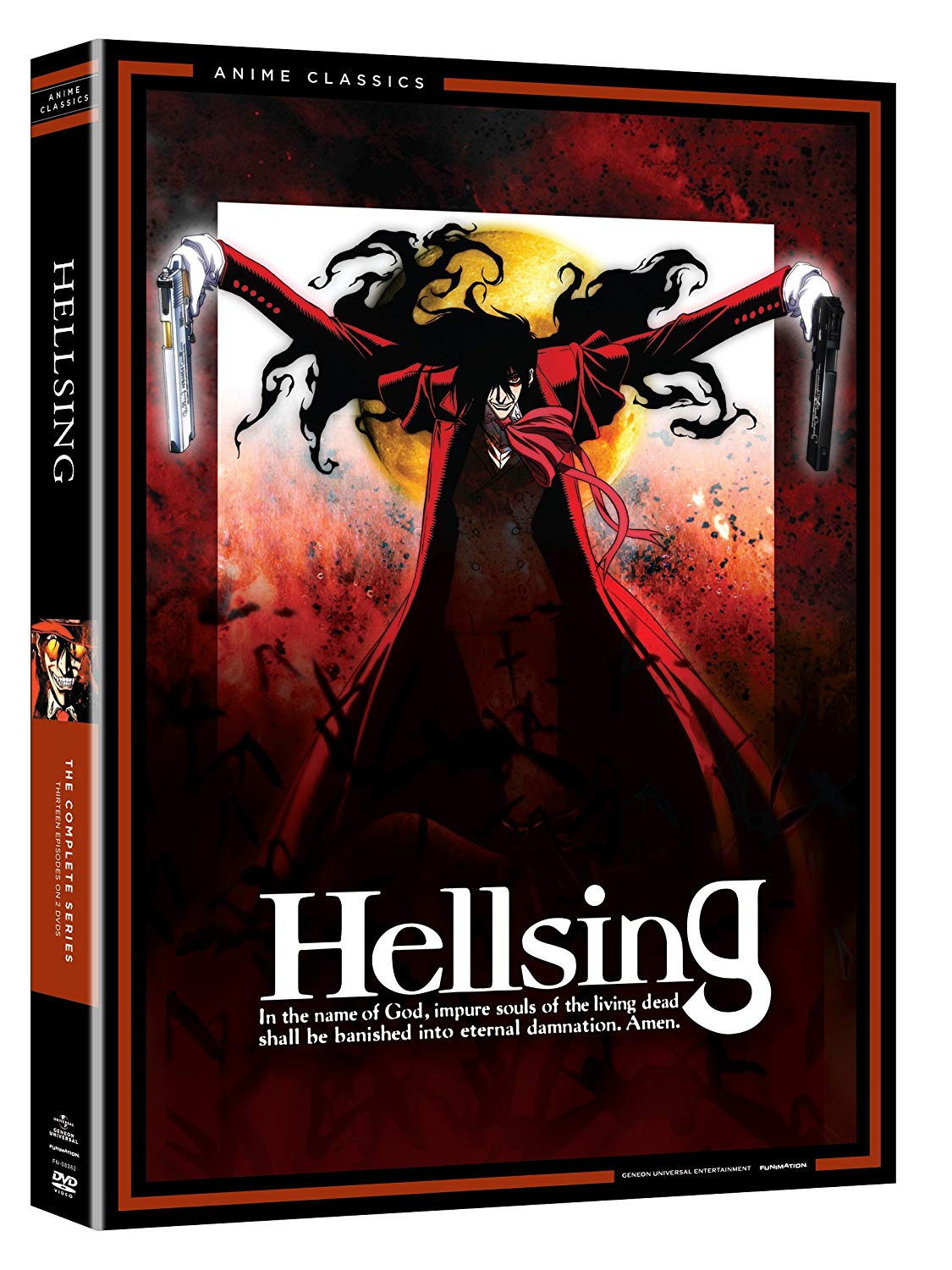 Anime cover: Hellsing