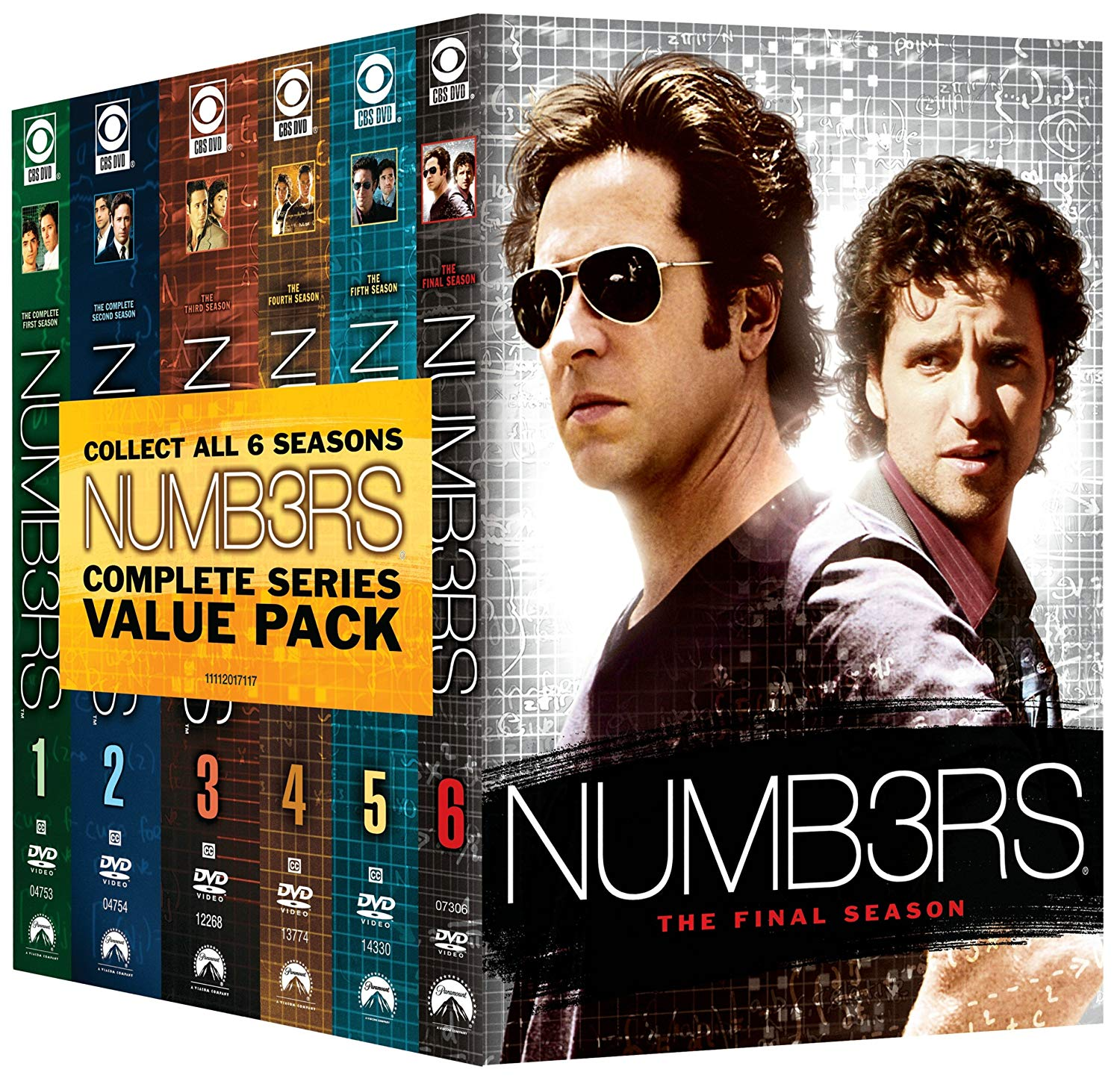 Tv Show cover: Numbers