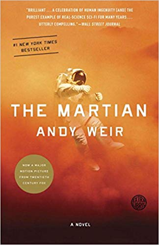 Book cover: The Martian