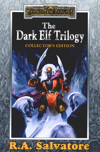 Book cover: The Dark Elf Trilogy