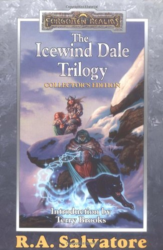 Book cover: The Icewind Dale Trilogy