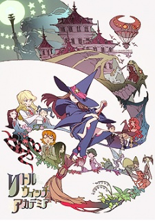 Anime cover: Little Witch Academia
