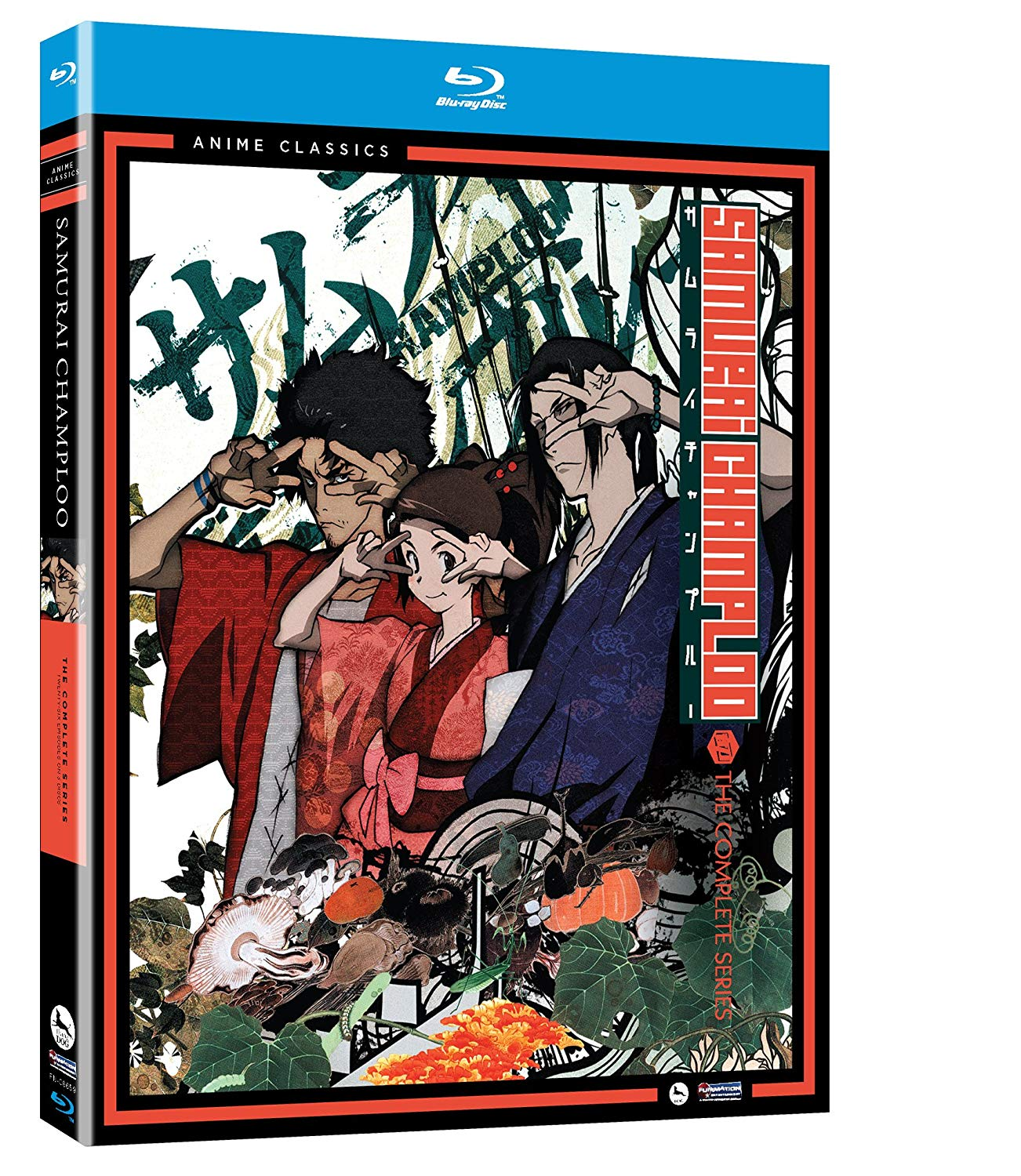 Anime cover: Samurai Champloo