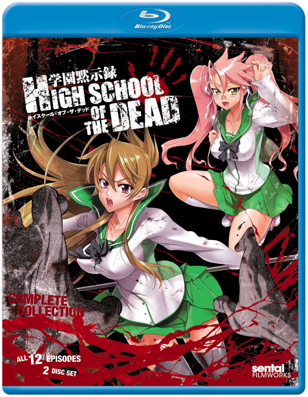 Anime cover: Highschool of the Dead