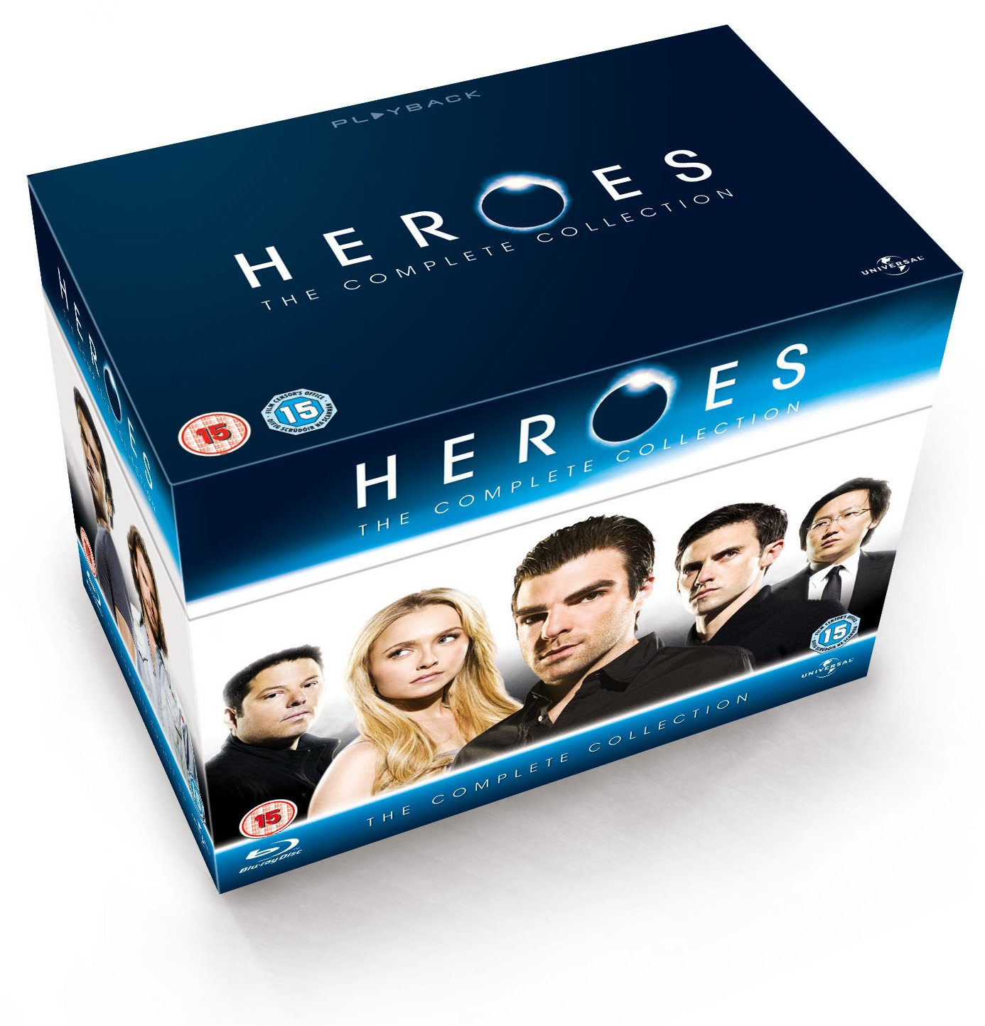 Tv Show cover: Heroes