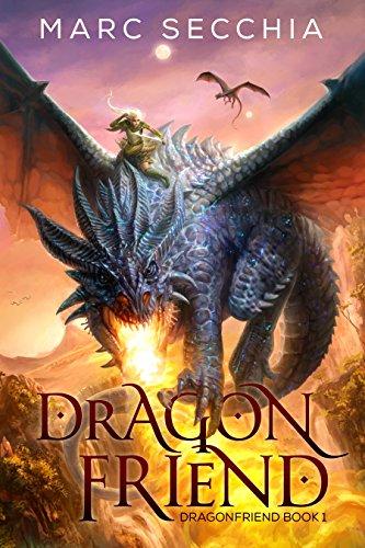 Book cover: Dragonfriend