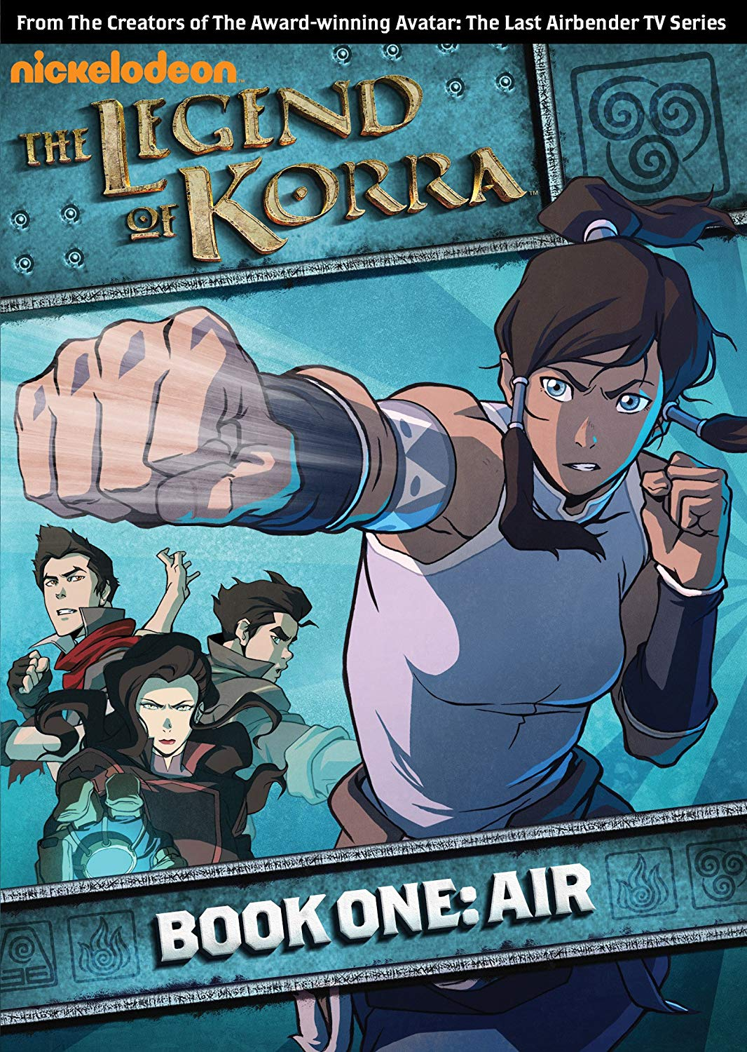 Tv Show cover: The Legend of Korra