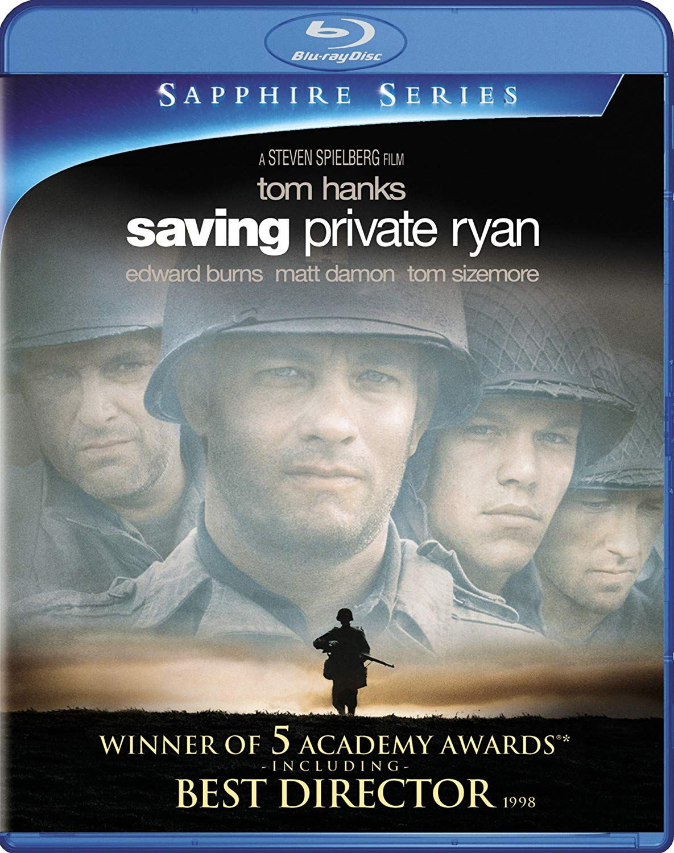 Movie cover: Saving Private Ryan