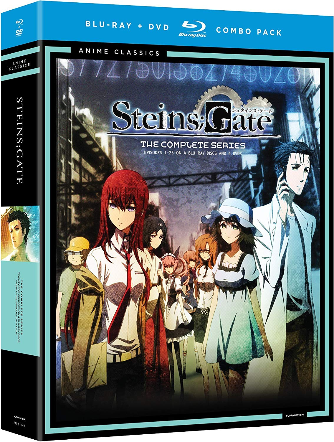 Anime cover: Steins;Gate
