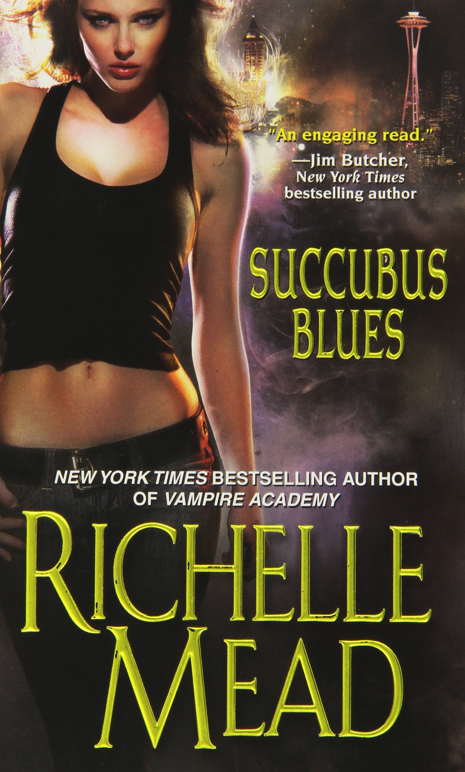 Book cover: Succubus Blues