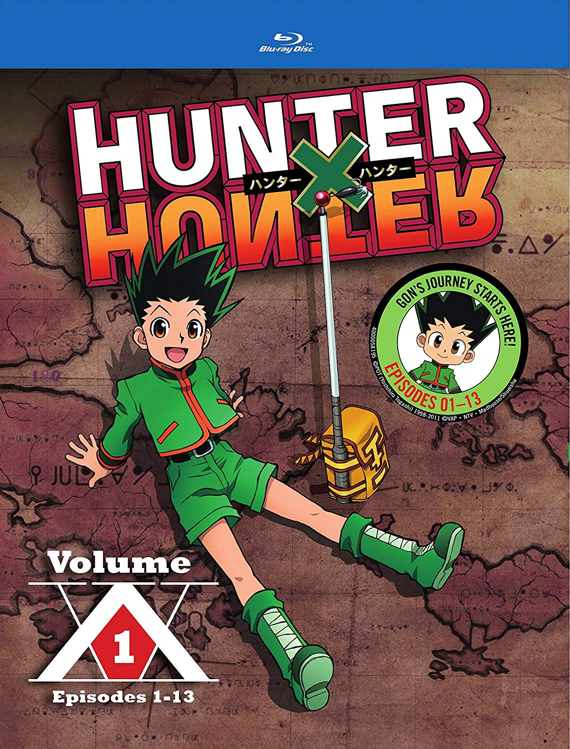 Anime cover: Hunter x Hunter