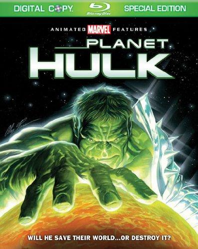 Movie cover: Planet Hulk