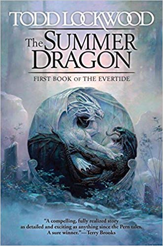 Book cover: The Summer Dragon