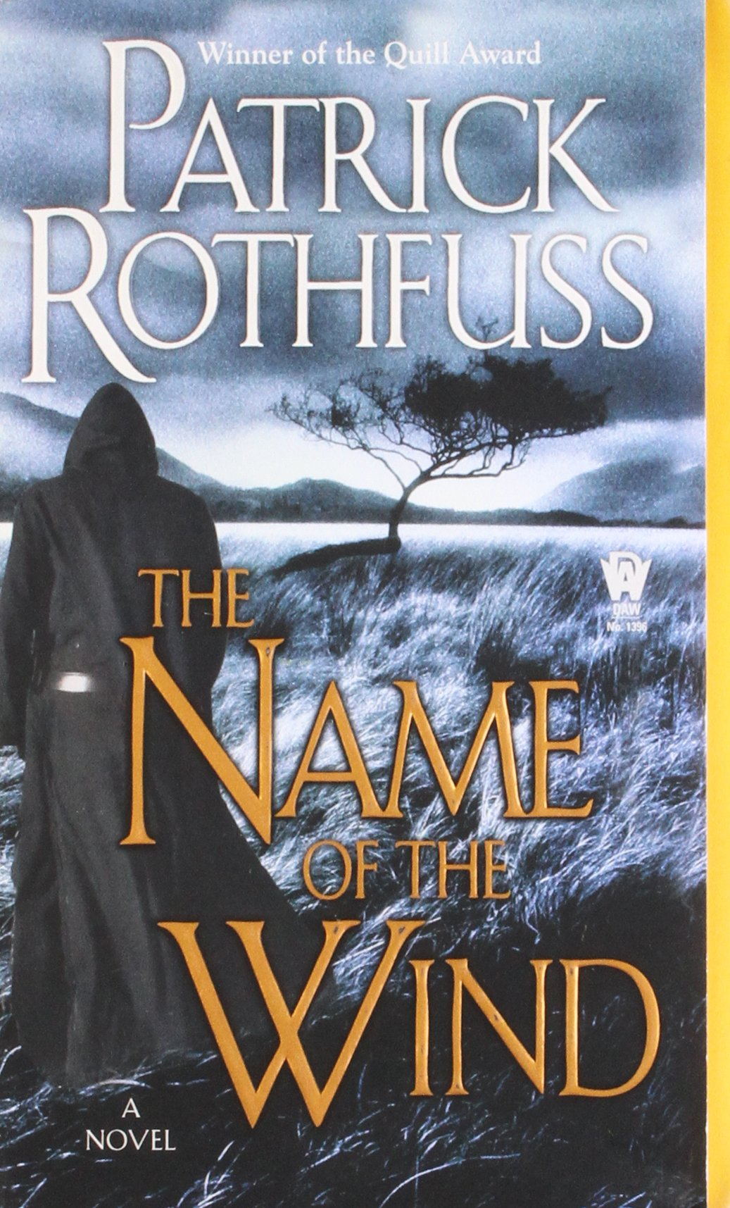 Book cover: Name of the Wind