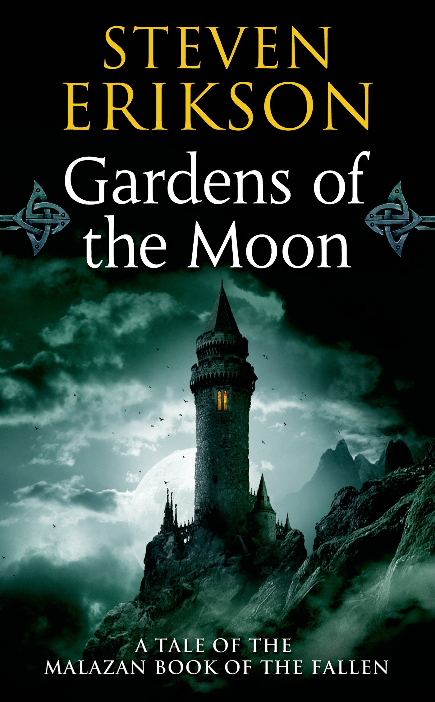 Book cover: Gardens of the Moon