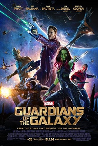 Movie cover: Guardians of the Galaxy