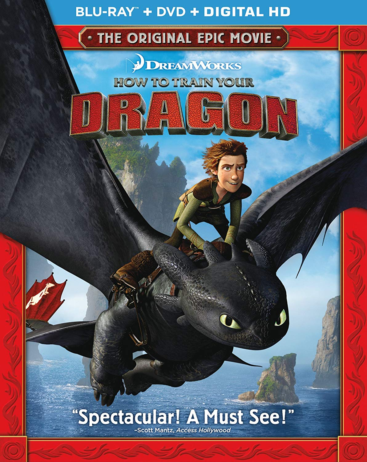 Movie cover: How to Train Your Dragon