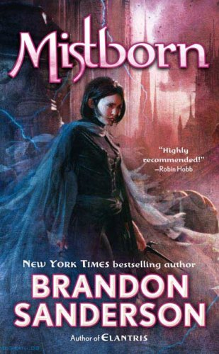 Book cover: Mistborn