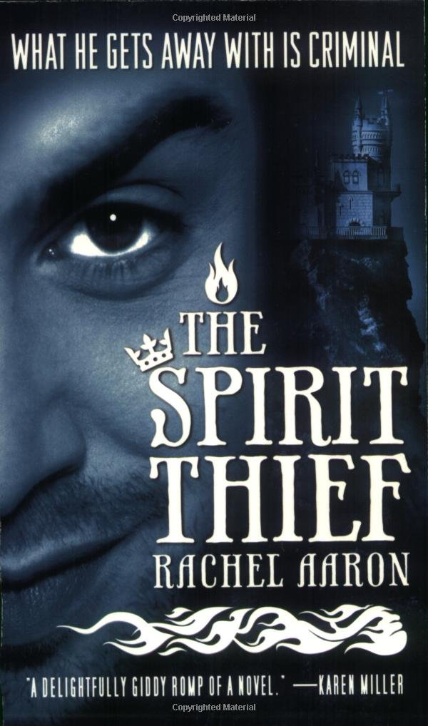 Book cover: The Spirit Thief