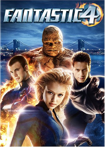 Movie cover: Fantastic Four