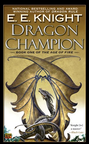 Book cover: Dragon Champion