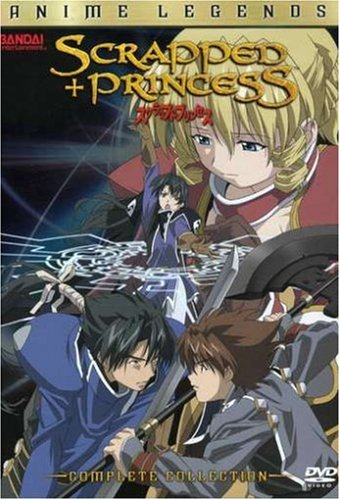 Anime cover: Scrapped Princess