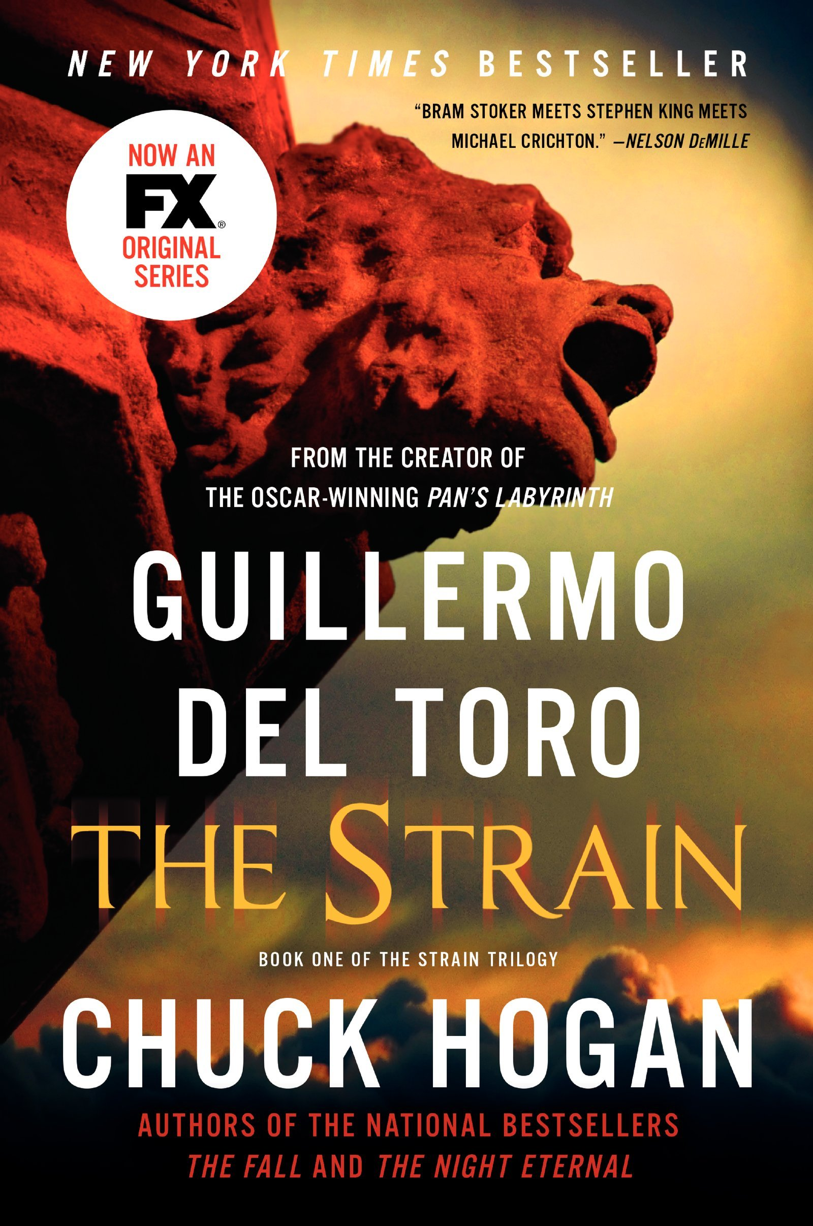 Book cover: The Strain