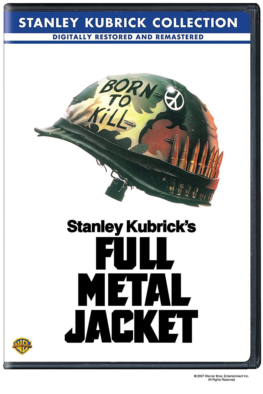 Movie cover: Full Metal Jacket