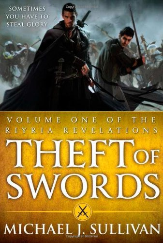 Book cover: Theft of Swords
