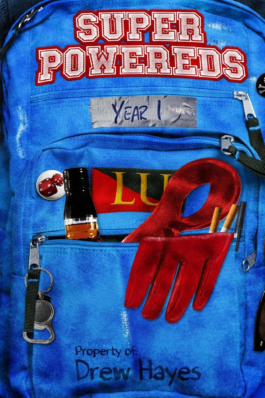 Book cover: Super Powereds: Year 1