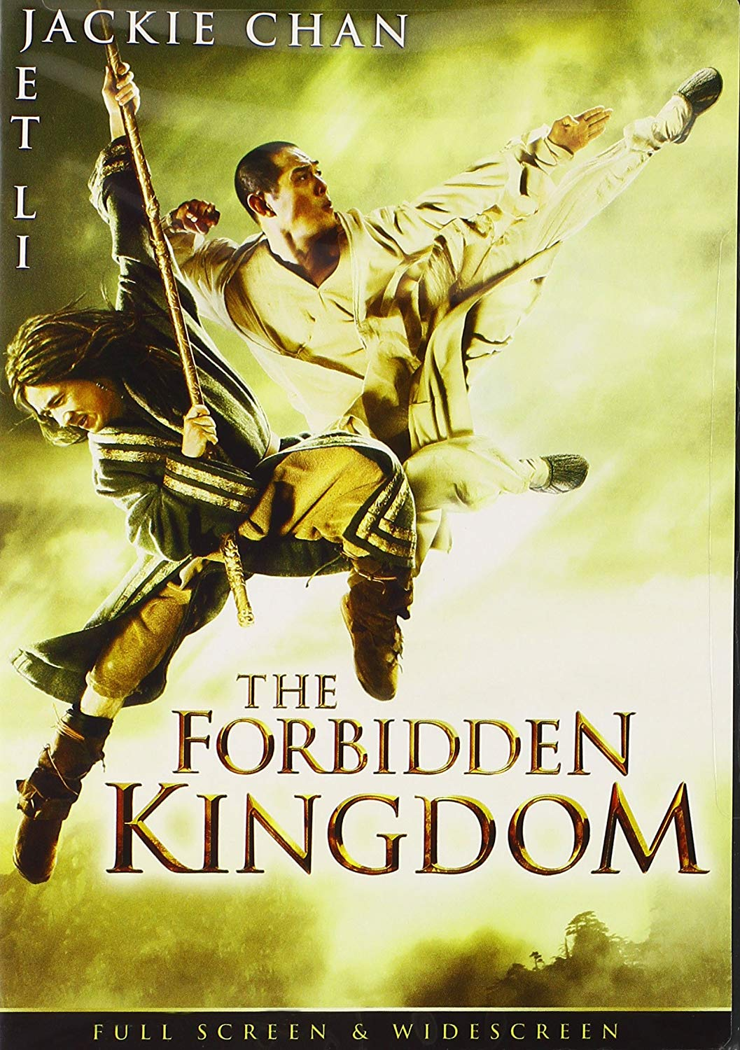 Movie cover: The Forbidden Kingdom