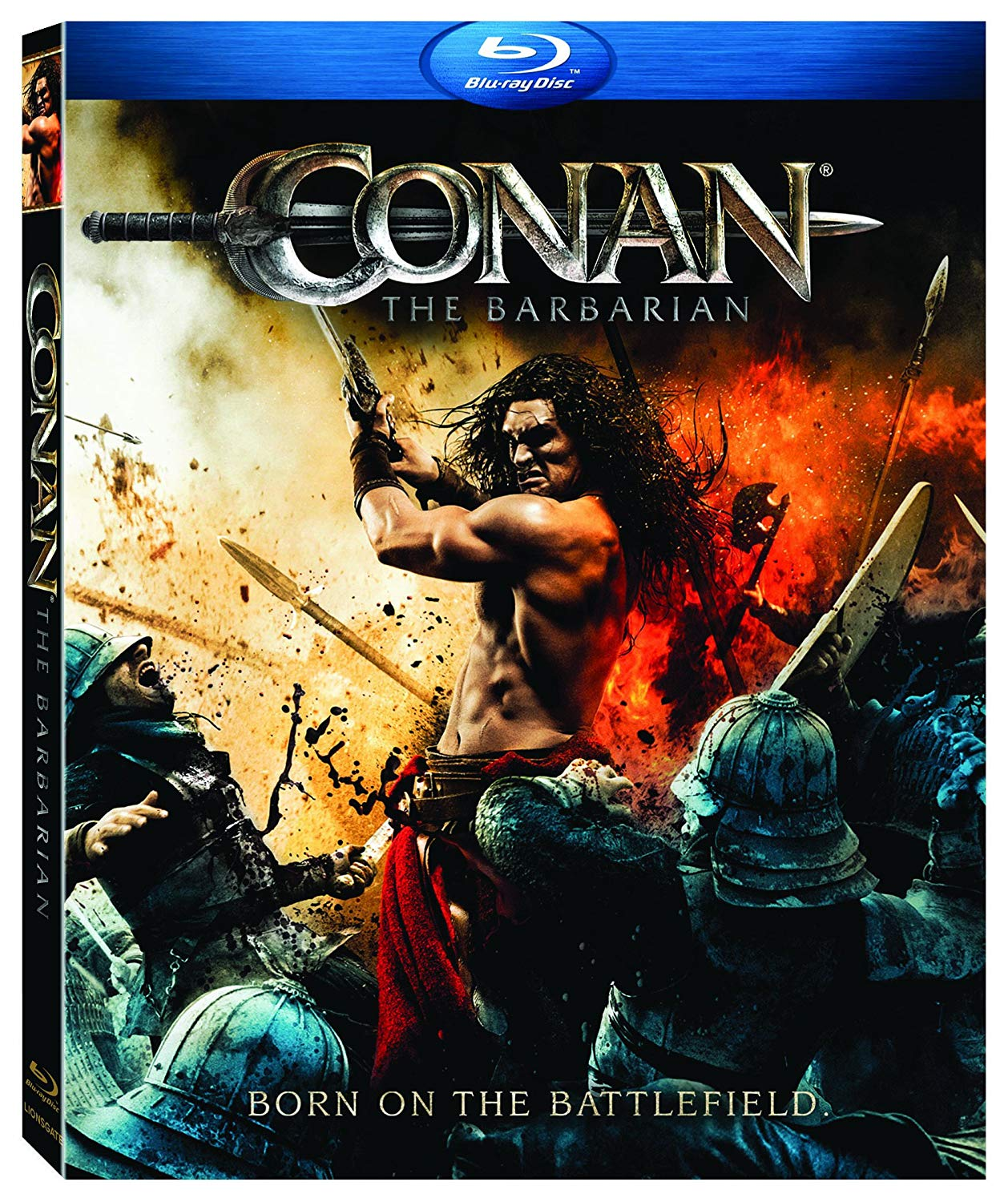 Movie cover: Conan The Barbarian