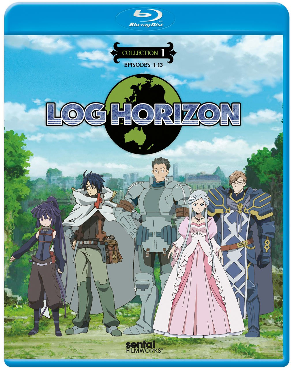 Anime cover: Log Horizon