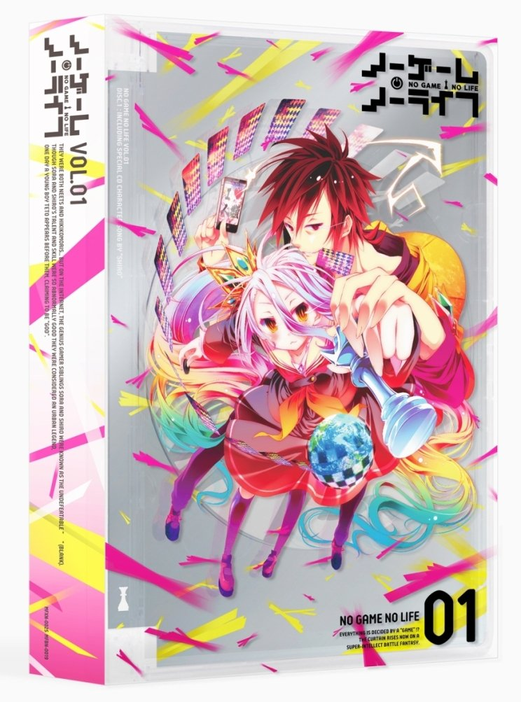 Anime cover: No Game No Life