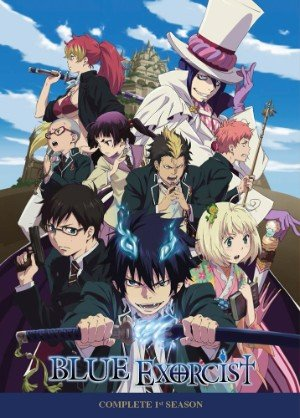 Anime cover: Ao no Exorcist