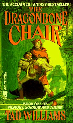 Book cover: The Dragonbone Chair