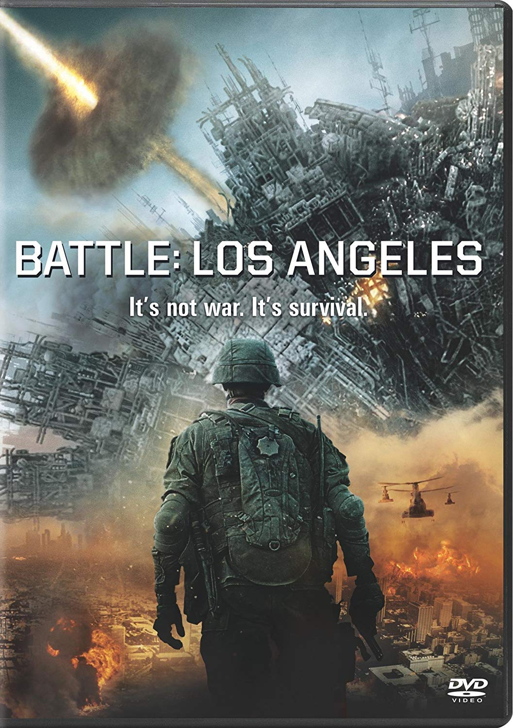 Movie cover: Battle Los Angeles