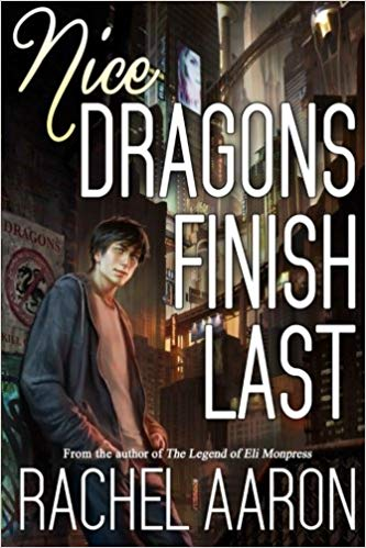 Book cover: Nice Dragons Finish Last